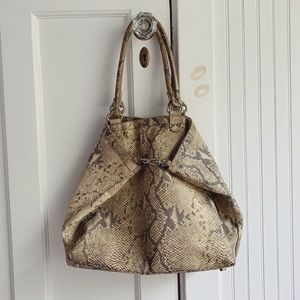 Snakeskin Bag from Worth New York